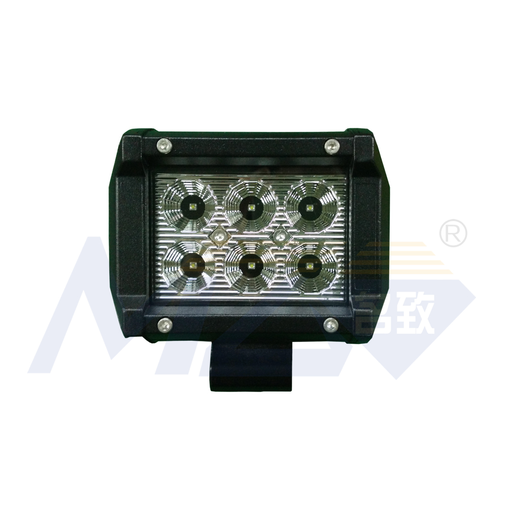 MZ AUTO Light 18W 06C cheap wholesale price off road lighting SUV ATV JEEP 1280lm 3W chips US HOT Sales work lamp car parts IP67