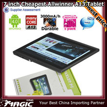 Newest 7 inch dual core smart tablet android 4.2 jelly bean