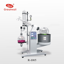 5L lab-scale rotavap/rotovape/rotary evaporator with chiller and solvent recory system