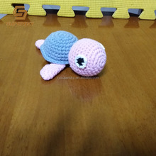 J306 Crochet Turtle Amigurumi Turtle Stuffed Handmade Sea Turtle Toy