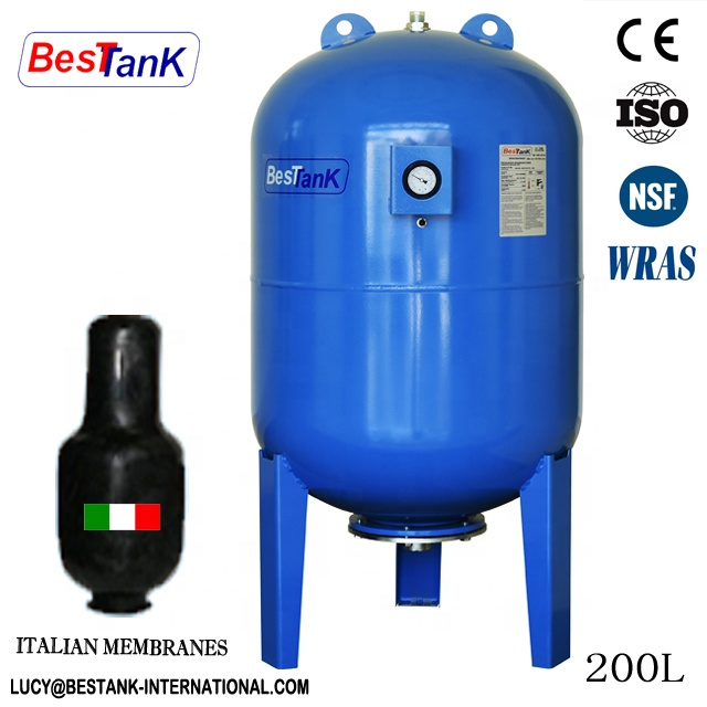 Stainless steel water tank membrane boiler pressure vessel 24l EPDM membrane