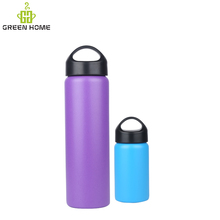 Vacuum Insulated Stainless Steel Water Bottle (25oz / 750ml). Double Walled Construction. Powder Coating. Zero Condensation