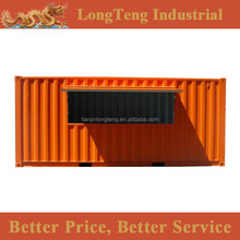 Customized 20ft bar container with flying doors, booth container