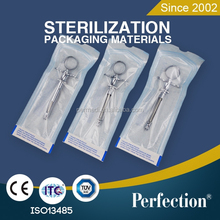 Self sealing ethylene oxide sterilized peel pack
