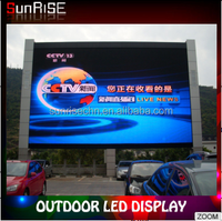 Mall outdoor large digital advertising led writing board/panel video display