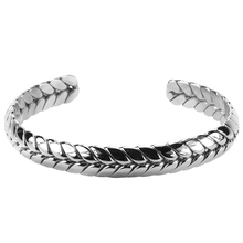 Unique design stainless steel bangle men bracelet for gift