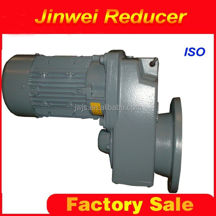 F series parallel shaft mounted helical gear reducer