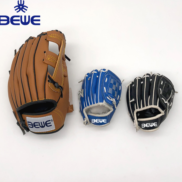 alibaba new cheap low price custom logo OEM synthetic leather PVC mini baseball glove