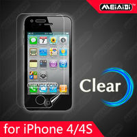 hot film Crystal clear anti-scratch screen protector screen guard screen film for iphone 4 front & back