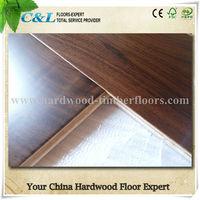 C&L prefinished American Black Walnut Engineered Wood Flooring