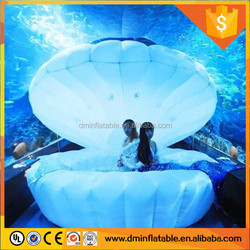 new LED lamps inflatable shell stage decoration