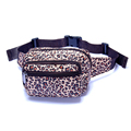 Wholesale printing fanny pack nylon bum bags travel sport running belt waterproof men's outdoor waist bag