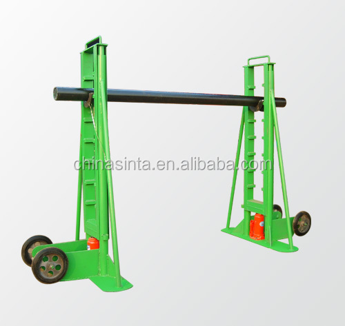 Heavy Load Hydraulic Cable Drum stand