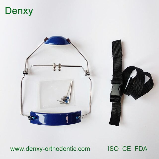 Denxy Dental Top Quality Dental Symmetry face bow orthodontic equal / unequal Asymmetrical Face Bow