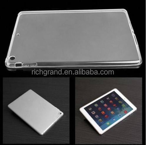 New Clear TPU Soft Silicon Transparent Case Cover For iPad Air