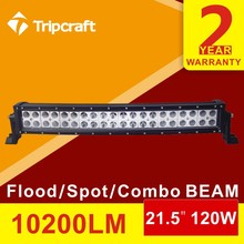 "10200LM 120W 21.5"" ALUMINUM HOUSING LED LIGHT BAR WITH VERTICAL FINS"