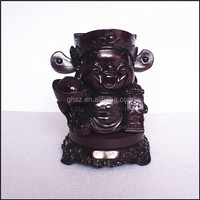 Custom factory direct high end business gifts resin the god of wealth sculpture for sale