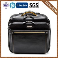 Supplier Custom Made Casual Quality Guaranteed Genuine Leather Travel Bag