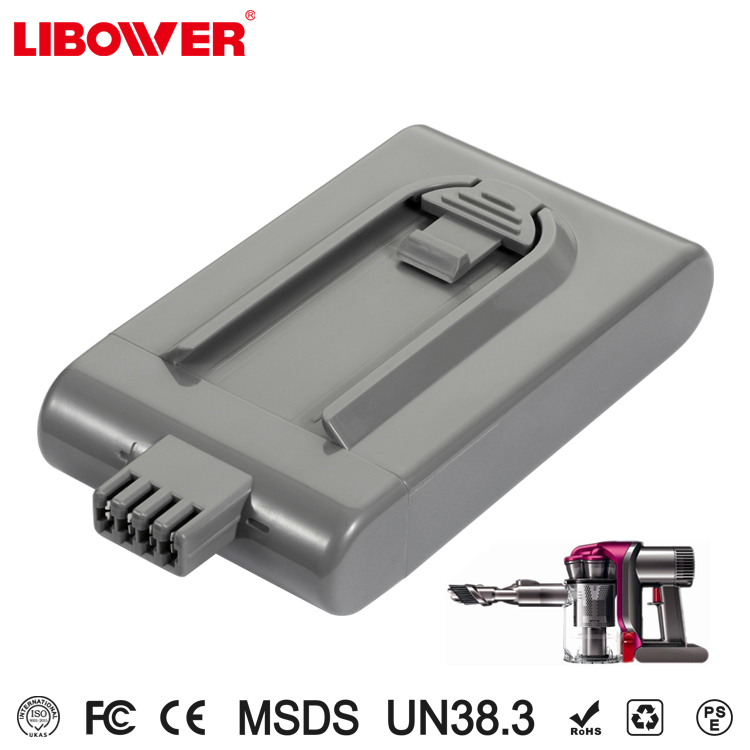 Libower high power lithium ion battery pack 2.0ah for portable battery powered vacuum cleaner