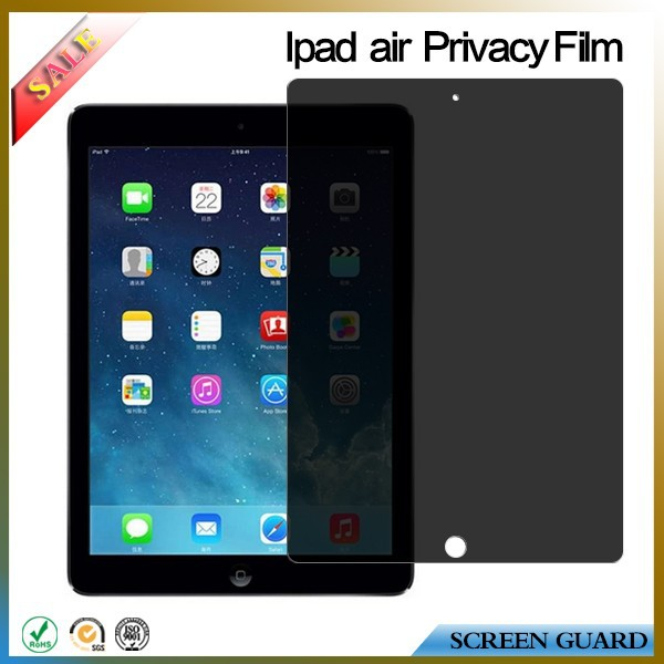 Perfect Premium anti-spy privacy screen protector/film/guard for apple ipad air