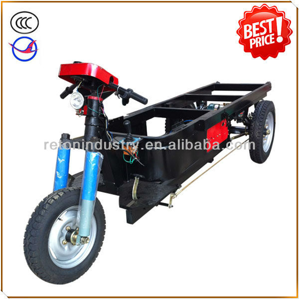 HZ1300DCY-B electric tricycle for brick/ore transportation