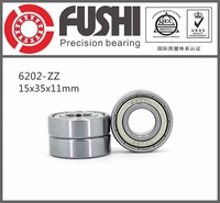 High Quality Low Price Size 15*35*11mm Deep Groove 202 zz Ball Bearing