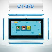 "7"" A9 quad Core android tablet tablet PC Made in china kids tablet pc, best selling product"