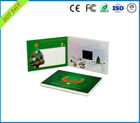 3.5 inch mini birthday video display greeting cards