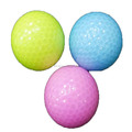 new model colorful tournament golf ball