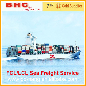 FCL/LCL Sea shipping freight from China to LE HAVRE
