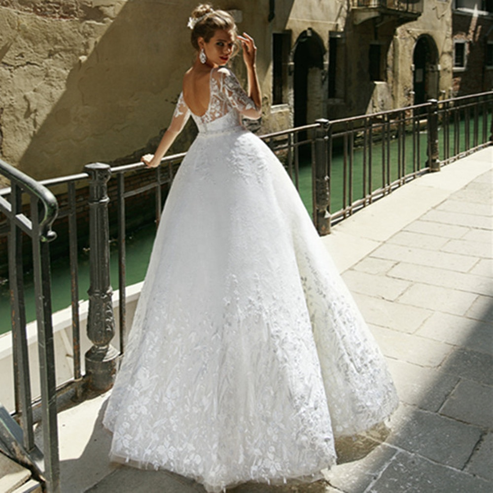 Ball Gown Wedding Dresses 2019 Bridal Gowns Africa Wedding Gowns Cheap Bridal Wedding Dress Robe de soirre A250