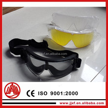 different function three lens transparent goggles