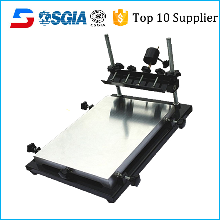 manual rotary table 1 color 1 station screen printing table for textile industry