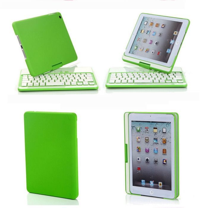 rotating case bluetooth keyboard for ipad mini 2