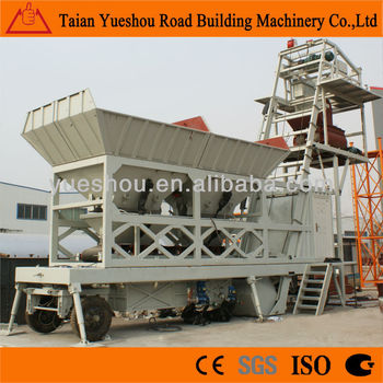 Mobile Concrete Batching Plant 25m3/h