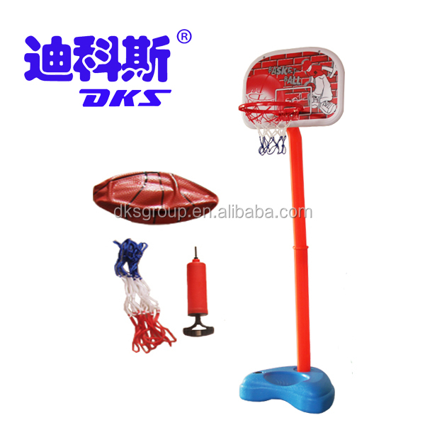 Water Proof Basketball Stand Steel Tube Outdoor Play