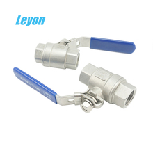 "water ball valve cf8m 1000wog kitz hydraulic ss bsp thread ball valve price 1/2"" ss 304 316l 2pcs stainless steel ball valve"