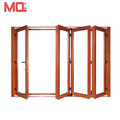 New Zealand standards aluminum exterior glass folding door