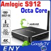 Octa Core ENY OEM x2 Amlogic S912 2GB RAM 16 GB ROM Android Google Tv Box