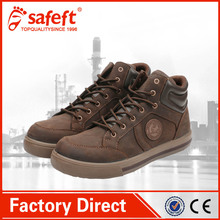 Brown nubuk italy safetix jogger sport brand name safety shoes