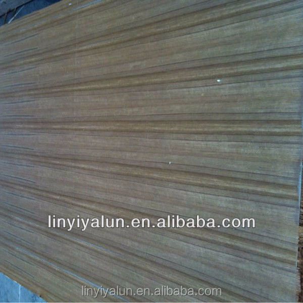 wall decoration line teak sliced veneer Fancy Plywood for decoration China