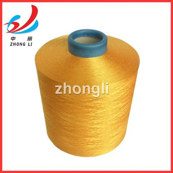 100% polyester filament yarn 150d/48f 300d/96f NIM/NIM DTY plant Alibaba top level dope dyed colors