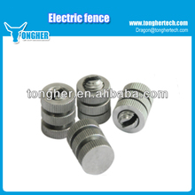 Aluminum wire linker,joint clamp for electric fence wires