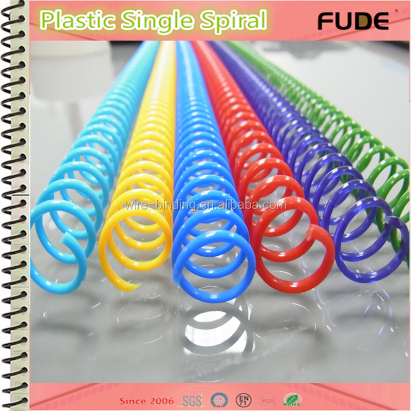 high quality plastic spiral book binding wire