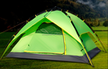 1-2 person pop up camping tent, rain-proof tent,2 pieces tent