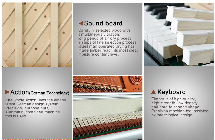 Most Popular flexible piano 88 keys upright piano price