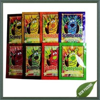 scooby snax 4g herbal incense potpourri bag for chem ,potpourri herbal incense bag