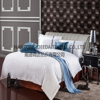luxury cotton ribbon embroidery bed sheets