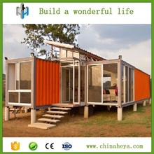 Light steel frame prefabricated beach villa