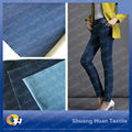 SH-T581 10.0OZ Cotton Polyester Spandex Denim Satin Fabric